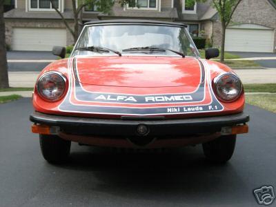 Niki on Alfa Romeo Spider Door Panel